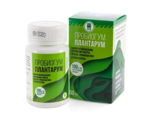 Пробиогум Плантарум, таблетки, 60 шт